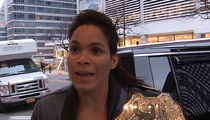 Amanda Nunes: I'm Rooting for Holly Holm ... So I Can Beat Her Ass (Video)