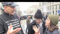 Ellen Page Debates Homosexuality with Preacher Amid Washington D.C. Protests (VIDEO)