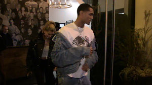 LAKERS JORDAN CLARKSON -- LAMBORGHINI DATE... With Hailey Baldwin