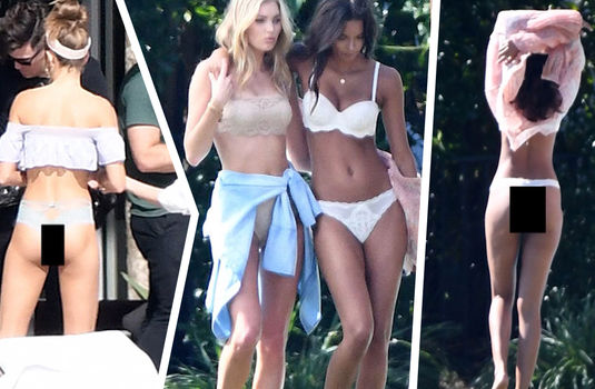 Victoria Secret Models Booty Booty And More Booty