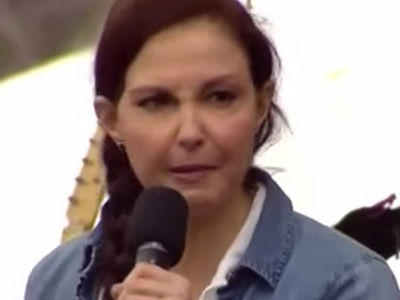 Ashley Judd Gives a 'Vulgar,' 'Nasty Woman' Speech at the Women's March on DC (Video)