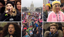 Women's March On Washington Draws Huge Crowds