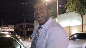 Magic Johnson: I'll Never Run for President ... Let's Wait & See on Trump