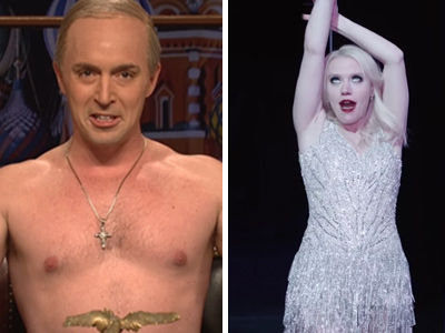 """""""Putin"""" Criticizes Trump's First Day In Office, Kellyanne Gets a Musical on """"SNL"""" (Video)"""