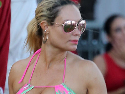 Coco Just Wore Another EYE-POPPING Swimsuit on Vacation -- See Killer Post-Baby Bod!