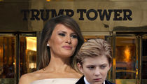 Melania Trump, Oops, I Thought Barron Had School Today!