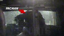 Pacman Jones Arrest Video -- Told Cop 'Suck My D***' ... 'I Hope You Die'