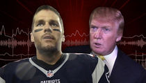 Tom Brady: 'Why Does Everyone Care About Trump Friendship?? (Audio)