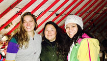 Ronda Rousey Road Tripped to Standing Rock ... Gave Supplies to Pipeline Protesters (PHOTO)