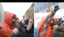 Shia LaBeouf Is A Man of the People With Trump Protest (VIDEO)