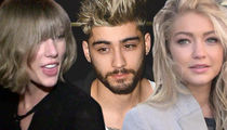 Taylor Swift and Zayn Malik's Lack of Music Vid PDA Not Due to Gigi