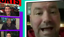 Dana White Says Anderson Silva's the 'Tom Brady of the UFC' (VIDEO)