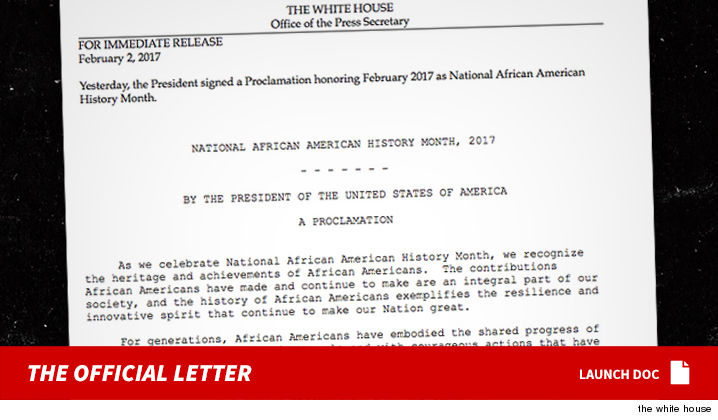 Trump Renaming 'Black History Month' After 41 Years Of Celebration