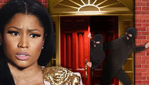 Nicki Minaj's House Hit in $200k Burglary