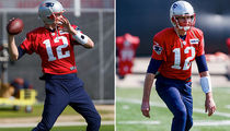 Tom Brady's Grammar Fail at Super Bowl Practice (PHOTO GALLERY)