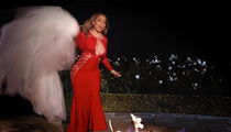 Mariah Carey Burns Dress for Wedding with James Packer