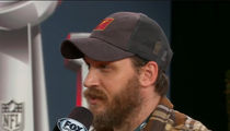Tom Hardy Should Root for the Falcons Because of His Dog (VIDEO)