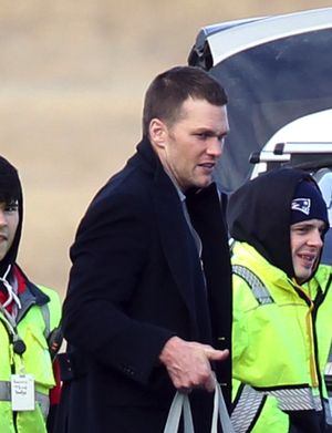 Tom Brady - The Champion Arrives Back In Boston