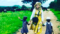 Madonna Finally Cops to Adopting Malawi Twins (PHOTO)