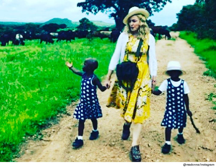 United States superstar Madonna granted permission to adopt twin girls from Malawi