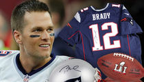 Tom Brady Will Sign Your Footballs ... $1,000 a Pop!