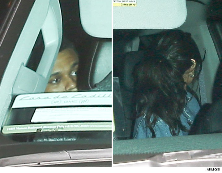 0213-weeknd-selena-grammy-rihanna-after-party-leaving-1oak-AKMGSI-01