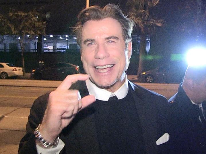 John Travolta Says Teleprompter Blunder Was A Joke | TMZ.com Mischa Barton Dead