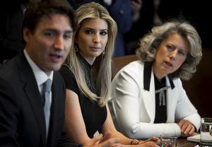 Ivanka Meets Trudeau