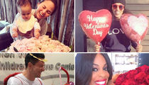 Celebrities Celebrating Valentine's Day (PHOTO GALLERY)