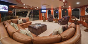 The Weeknd and  Selena Gomez -- Inside the Awesome Yacht