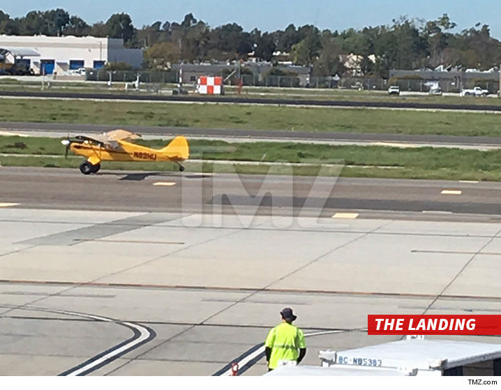 Harrison Ford Back In The Pilot's Seat After Near Accident
