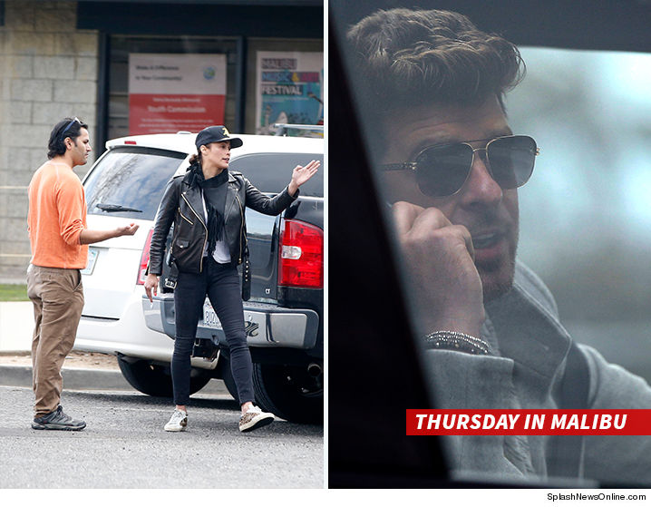 Police called during Robin Thicke and Paula Patton custody standoff