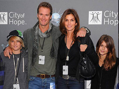 Wait Till You See Cindy Crawford's Gorgeous Offspring Now: They're So Grown Up!