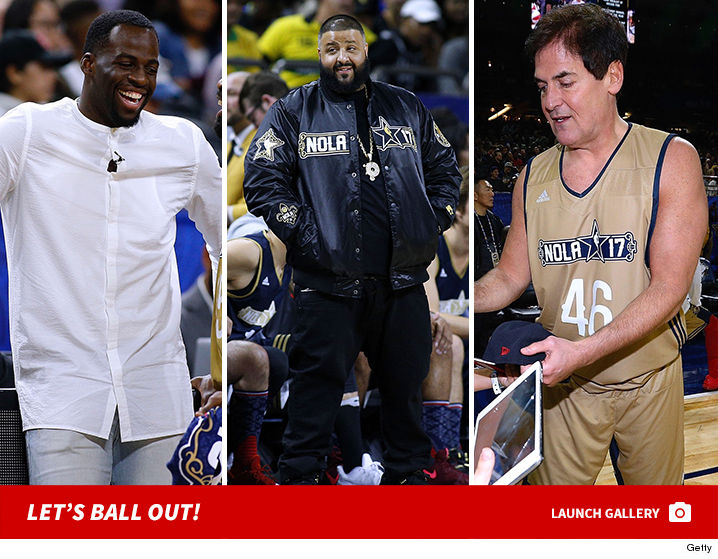 NBA Superstars and Celebrities Ball Out for All-Star ...
