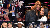 NBA Superstars and Celebs Ball Out for All-Star Weekend!