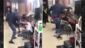 BOXER YUSAF MACK BEATS DOWN TWITTER TROLL IN BARBER SHOP ... After Gay Attacks