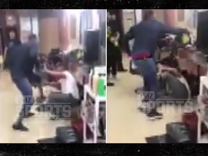 Boxeador Yusaf Mack pega abajo Troll Twitter en peluquería… Después Gay ataca (VIDEO)