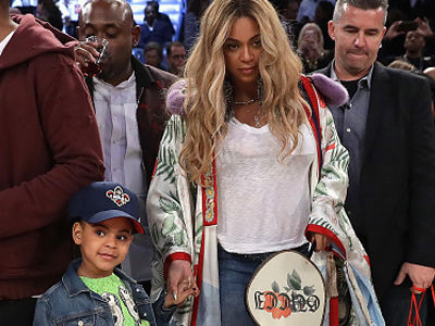 Blue Ivy's Dress for the NBA All-Star Game Cost HOW MUCH?! See the Photo & and Ridic Price Tag!