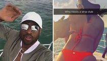 Dwyane Wade, Gabrielle Union & Chris Bosh Ditch All-Star Game For Miami Boat Trip (VIDEO)
