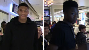 GIANNIS ANTETOKOUNMPO The Real 'Greek Freak' Is MY 15-YEAR-OLD BRO!!