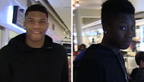 Giannis Antetokounmpo: My 15 Year Old Brother Is Better Than Me (Video)