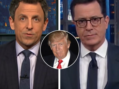 Stephen Colbert, Seth Meyers RIDICULE Trump for Citing Fake Sweden News