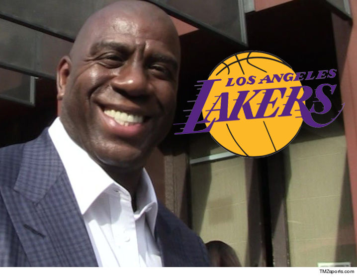 Lakers name Magic Johnson president of basketball operations