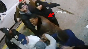Angry Joey Porter Security Footage Released ... Scary but NOT Violent