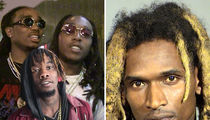 Migos Skates, Sean Kingston's Friend Booked