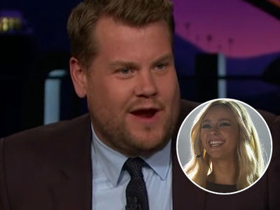 Watch James Corden LAY INTO Britney Biopic for 6 Minutes Straight -- 'Cinematic Masterpiece'?!