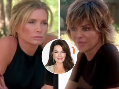 'RHOBH' Lisa Rinna vs. Eden Sassoon -- Vanderpump Reveals What You DIDN'T See on TV!