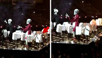 Katy Perry's Backup 'House' Dancer Falls Offstage at Brit Awards
