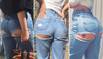 Ripped Celebrity Booties ... Guess Who!