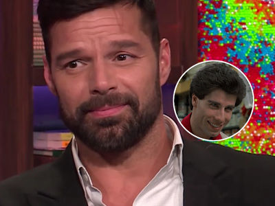 John Travolta & His Junk Made Ricky Martin Realize He Was Gay (Video)